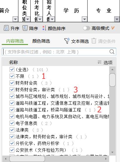 2020年江苏公务员考试如何根据专业选报职位?